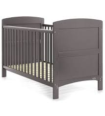 Obaby Crib Mattress Obaby Grace Cot Bed Taupe Grey Direct2mum