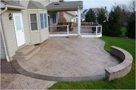 Concrete Patio Designs Backyard Backyard Patio Designs Decorating Sted