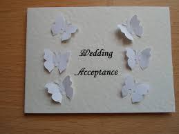 Invitation Acceptance Cards Butterflies Wedding Invitation Acceptance Card By Wendylizabet