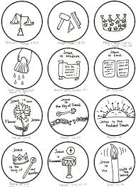 6 best images of printable christmas symbols and meanings