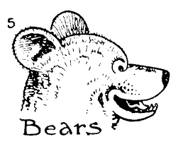 draw bear face step step easy bear drawing smart