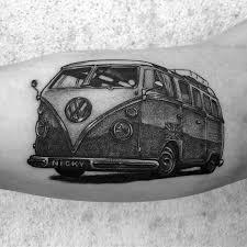 50 volkswagen vw tattoos for men automotive design ideas