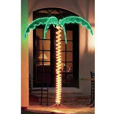 beachcrest home canova large palm tree 5 ft rope light reviews
