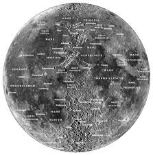 Map With Labels The Moon Astr 1010l