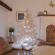a 4ft wooden christmas tree made from birch plywood guaranteed no