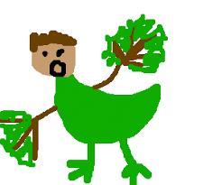 Green Man Meme - lol meme