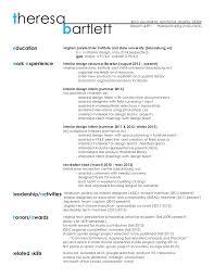 sle designer resume interior designer resume sle resume interior designer success with