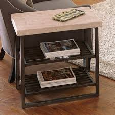 Narrow End Tables Living Room Narrow End Table Offers Uses At Home For Chairside