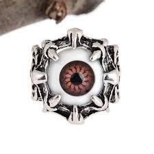 aliexpress com buy men u0027s vintage dragon claw evil eye skull ring