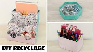 rangement pour bureau diy recyclage 3 rangements pour le bureau