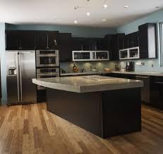 cuisines avec ilot central merveilleux intérieur en accord avec modele de cuisine avec ilot