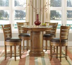 5 piece round pub table set starrkingschool