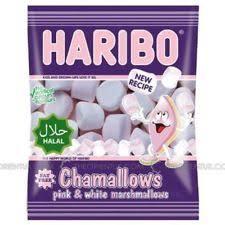 haribo chamallows marshmallow helal halal 70g ebay