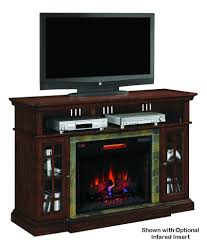 Electric Fireplace Tv Stand Amazon Com Lakeland Cherry Infrared Tv Stand Electric Fireplace