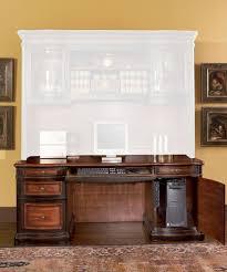 credenza computer desk coaster fine furniture 800500 pergola double pedestal kneehole
