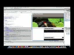 using css templates in dreamweaver youtube