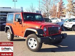 jeep wrangler 4 door maroon used 2017 jeep wrangler sport low km u0027s 1 owner a c hard top