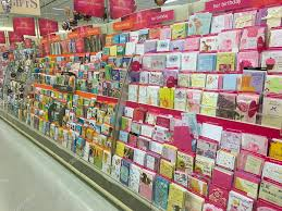american greetings card selection at store stock editorial photo