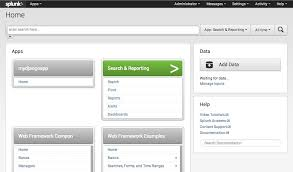 1 create an app and add a page template splunk