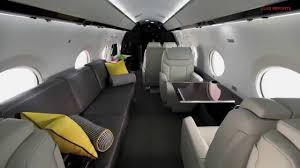 elite luxury jet gulfstream g450 interior view youtube