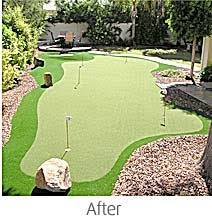 Backyard Putting Green Designs by Detroit Putting Greens Synthetic Golf Greens Greenskeeper Golf