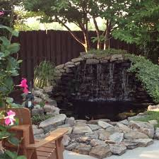 Outdoor Water Features With Lights by Best 25 Small Backyard Ponds Ideas On Pinterest Small Garden