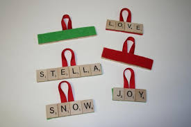 scrabble ornaments rainforest islands ferry