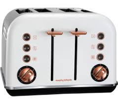 Morphy Richards Accent Toaster Red Morphy Richards Accents 242104 4 Slice Toaster Bluewater 49 99