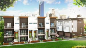 revolve residential planning townhome development in charlotte u0027s