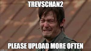 Upload Image Meme - daryl dixon cries for videos imgflip