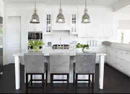 parisian kitchen design building our house of grey and white kitchen island pendants