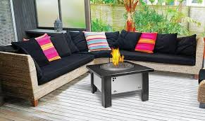Steel Firepit Napoleon Gas Patioflame Stainless Steel Firepit Gpfgp 2 W Glass