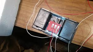 wiring a doorbell easy youtube