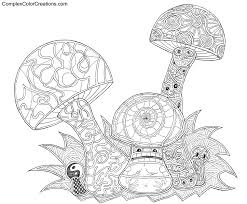 complex coloring pages for adults archives and printable complex