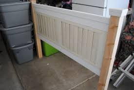 Headboards Made From Shutters Remodelaholic Headboard Made From A Shade