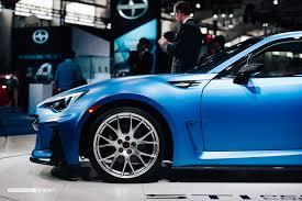 subaru brz matte blue the subaru brz sti performance concept is a little monster