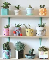 Wall Plant Holders Best 25 Painted Plant Pots Ideas On Pinterest Paint Flower Pots