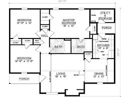 House Plans And Designs For 3 Bedrooms 3 Bedroom House Plans No Garage Medium Size Of House Plan L Shaped
