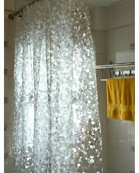 Clear Vinyl Shower Curtains Designs Shower Curtain Clear Chargersteve