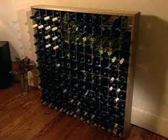 build your own wine cellar racks wine rack plans to build build