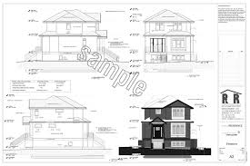 Home Drawings Sample Drawings Rjr Construction Group Vancouver Renovations