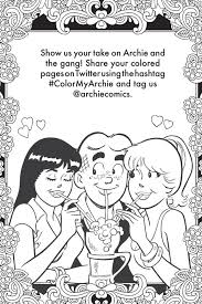 hellboy coloring pages classic fun in riverdale u2013 archie u0027s coloring book 1 is out this