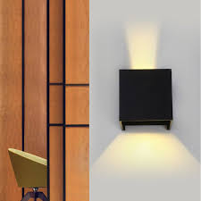 home theater sconces outreo 7w led wall sconce lamp light warm white up down beam angle