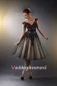 black dresses wedding affordable v neck the shoulder black lace wedding dress