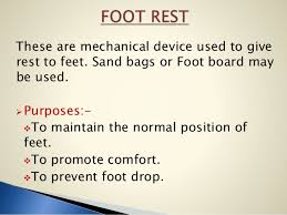 Footboard For Foot Drop Comfort Devices