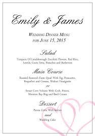 46 best wedding menu templates images on pinterest wedding menu