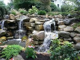 Making A Backyard Pond How To Build A Backyard Waterfall U2013 Glenathemovie Com