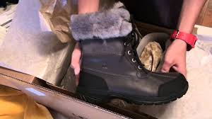 ugg s adirondack winter boots unboxing mens uggs butte