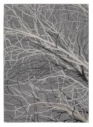 Grey Area Rug Designer Wool Area Rugs Branch Collection Wool And Viscose Area