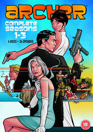 Wildfire Cartoon Dvd by Archer Season 1 3 Exclusive To Amazon Co Uk Dvd Amazon Co Uk H